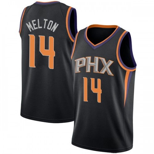 Nike Phoenix Suns Swingman Black De'Anthony Melton Jersey - Statement Edition - Men's